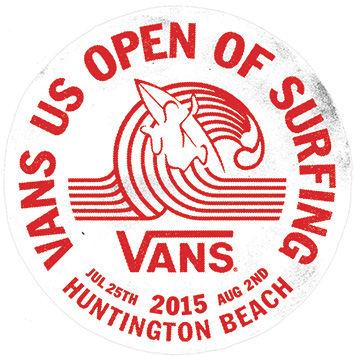 Men's Vans US Open of Surfing 2015