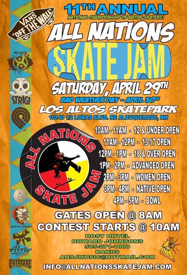 All Nations Skate Jam 2017