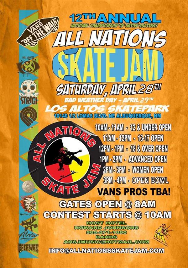 All Nations Skate Jam 2018