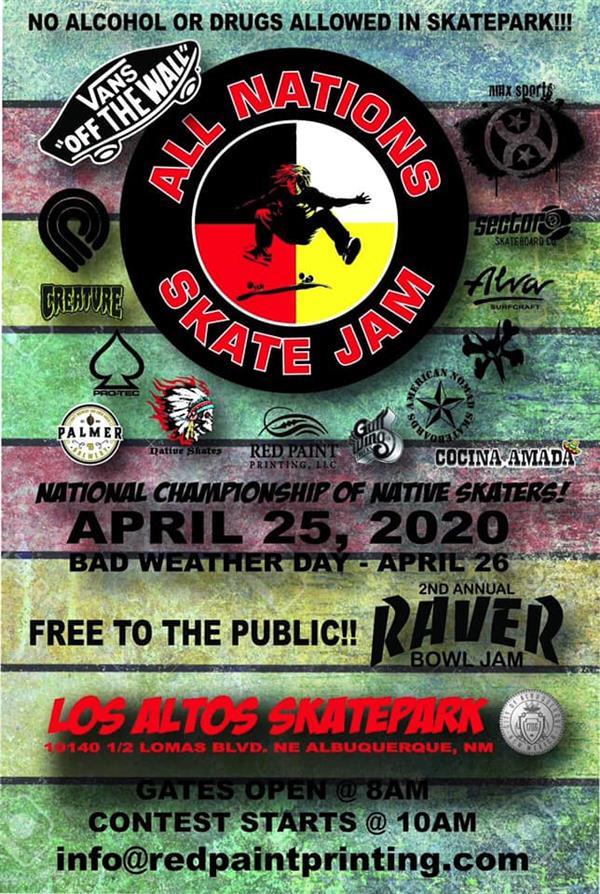 All Nations Skate Jam - Albuquerque, NM 2020