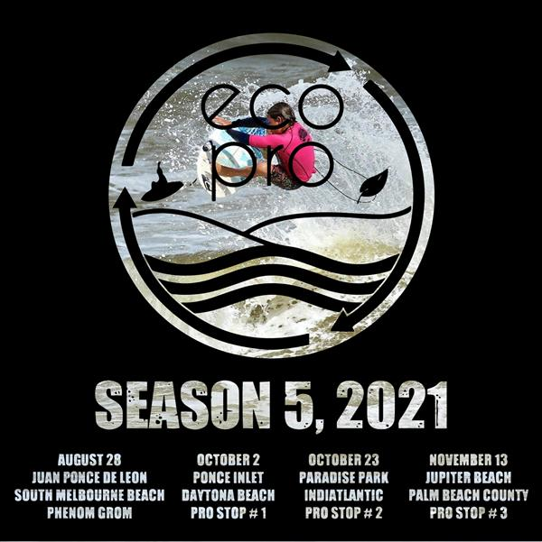 Eco Pro Surf Series - Ponce Inlet - Daytona Beach - PRO Stop #1 2021