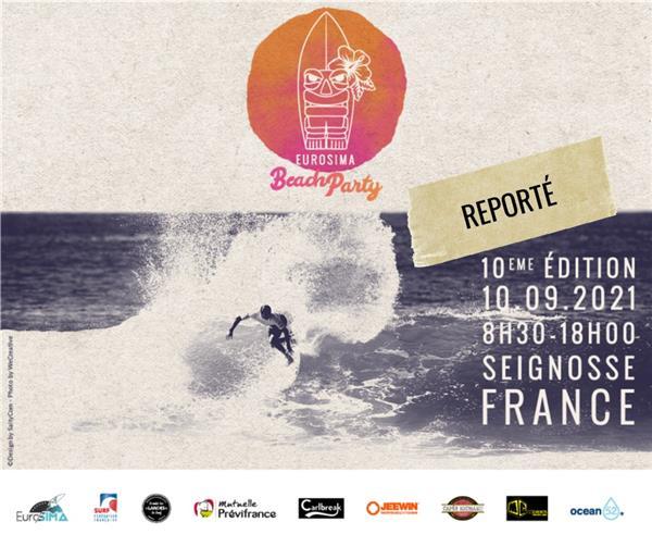 Eurosima Beach Party - Seignosse 2021