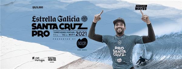 Men's Estrella Galicia Santa Cruz Pro pres by Noah Surf House 2021