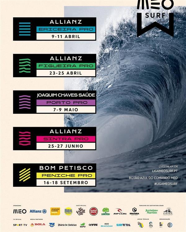 MEO Surf League event #5 - Bom Petisco Peniche Pro 2021