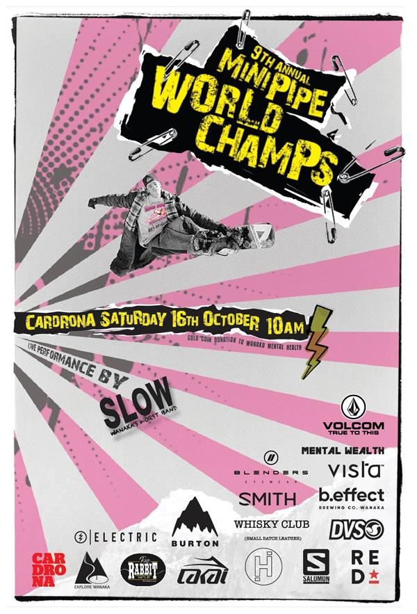 MiniPipe World Champ - Cardrona 2021
