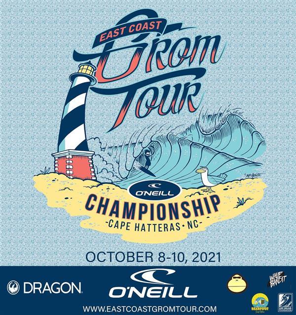 O'Neill East Coast Grom Tour - Championships - Cape Hatteras Lighthouse, Buxton, NC 2021