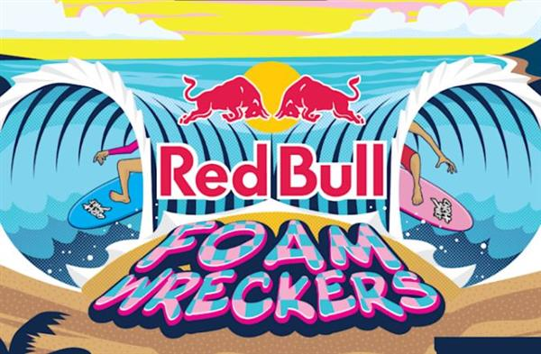 Red Bull Foam Wreckers - Santa Cruz, California 2021