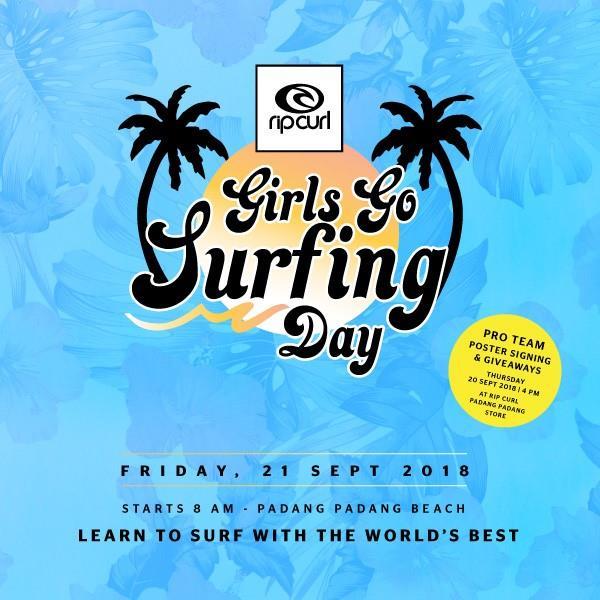 Rip Curl Girls Go Surfing Day 2018