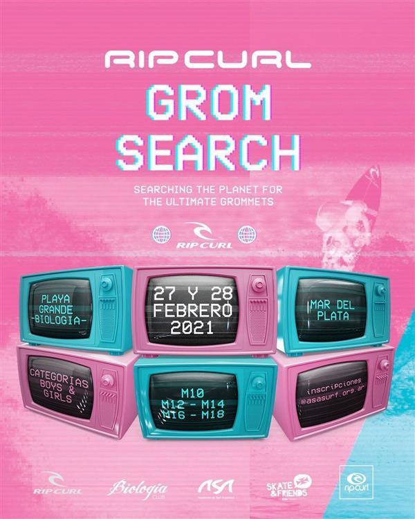 Rip Curl GromSearch - Mar del Plata 2021