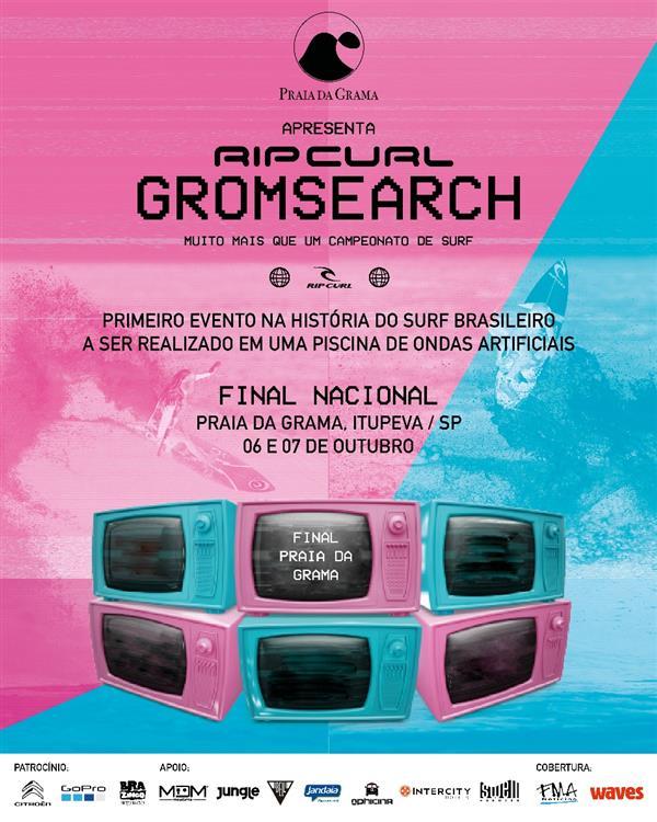 Rip Curl GromSearch - National Final - Praia da Grama, Itupeva, Brazil 2021