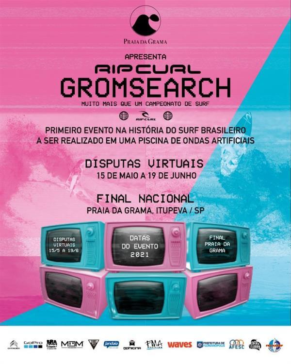 Rip Curl GromSearch South America - Virtual Qualifier #2 - Brazil 2021