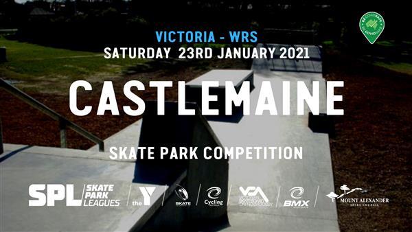 Skate Park Leagues Competition - Castlemaine, VIC 2021