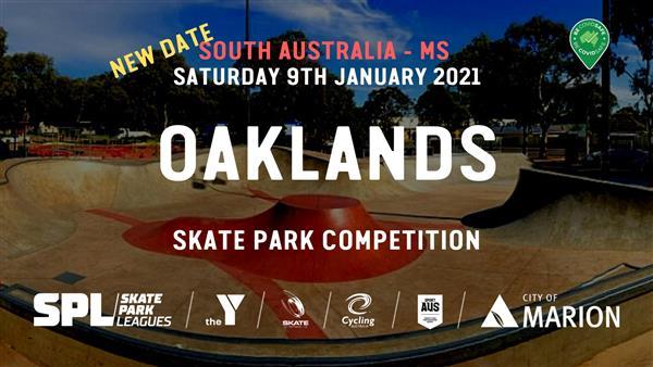 Skate Park Leagues Competition - Oaklands, SA 2021