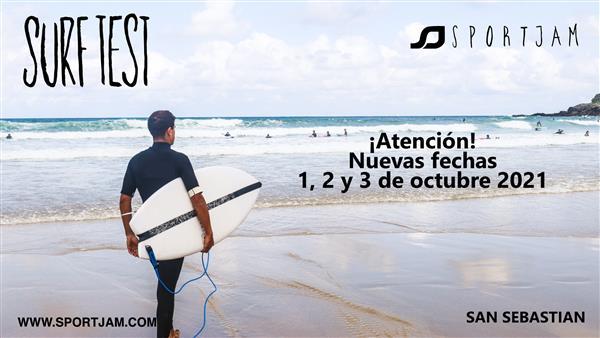 Sportjam Surftest - San Sebastian 2021