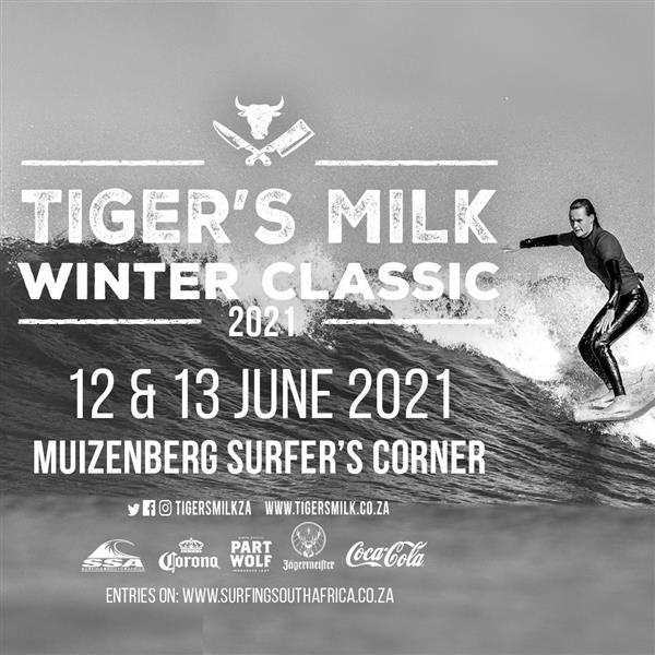 Tiger's Milk Winter Classic - Muizenberg - Cape Town 2021