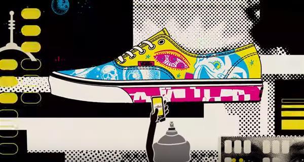 Win £20,000 in Vans Shoe Customisation Contest   Image credit: Vans