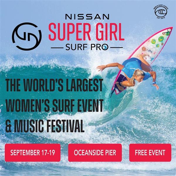 Women's Nissan Super Girl Surf Pro 2021