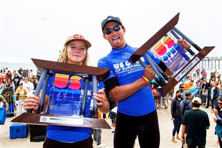 Challenger Series Sees Caitlin Simmers and Griffin Colapinto Win at Huntington Beach