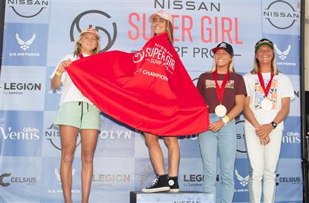 Caroline Marks Claims Big Win at Nissan Super Girl Surf Pro QS 3,000