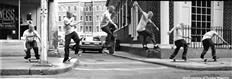 Fronside (FS) & Backside (BS) 180 Ollie Flatland