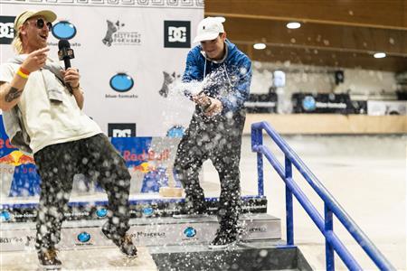 Martin Atanasov & Liv Broder win 2021 Blue Tomato x Zumiez Best Foot Forward Europe Finals in Innsbruck