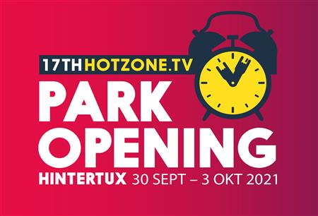 Only a few more weeks until the Hotzone.tv Park Opening 2021 in Hintertux