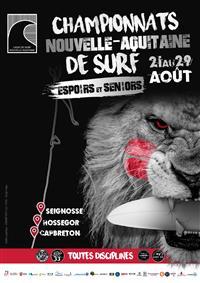 Championnats Nouvelle-Aquitaine de surf 2021