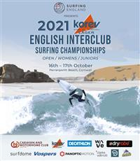 English Interclub Surfing Championships - Perranporth Beach, Cornwall 2021