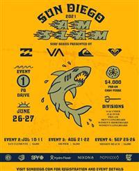 Sun Diego AM SLAM Surf Contest Series - Event 4 - Mission Beach 2021