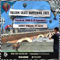 Volcom Skate Happening - Madrid, Spain 2021